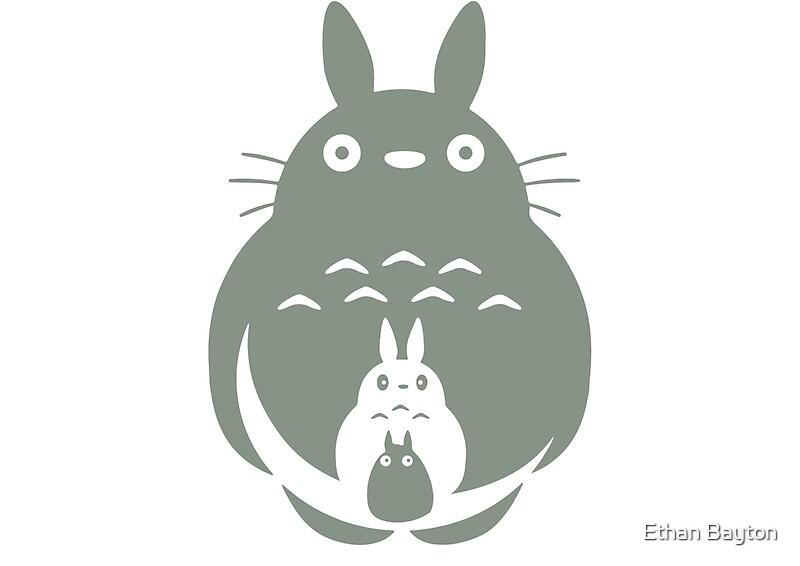 Anime Neighbor Totoro Jumper Hoodie Studio Ghibli