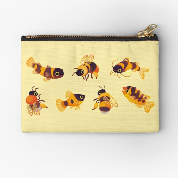 Bumblebee and fish Zipper Pouch