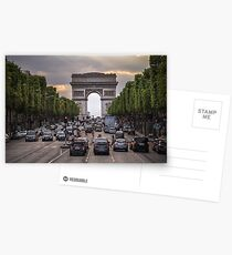 Champs Elysees Postcards
