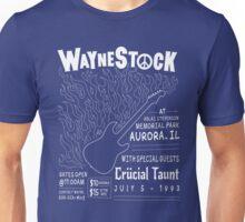 Waynestock (white) Unisex T-Shirt