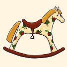 rocking horse by Elsbet