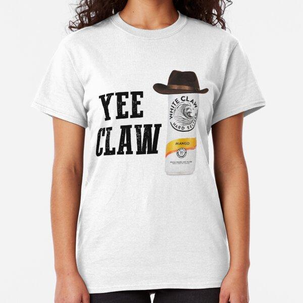 White Animal Claw T-Shirt Mens T-Shirts