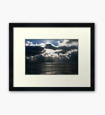 Evening, Ross Sea, Antarctica Framed Print