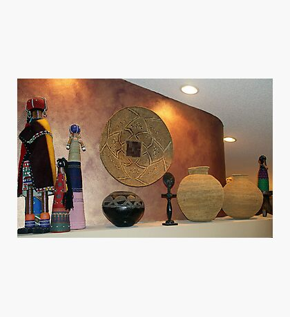 African artefacts Photographic Print