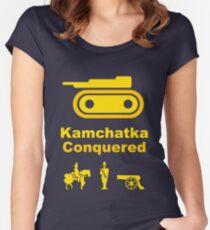 Risiko Kamchatka Yellow Women's Fitted Scoop T-Shirt