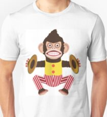 Monkey with cymbals. T-Shirt