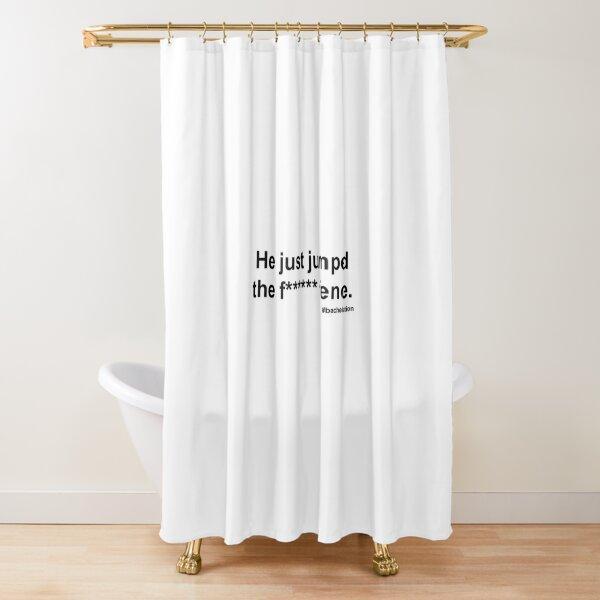 colton underwood fence jump Shower Curtain