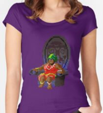 The Voodoo Lady! (Monkey Island 2) Women's Fitted Scoop T-Shirt
