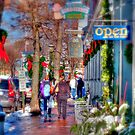 Christmas Shopping in Ogunquit by Monica M. Scanlan