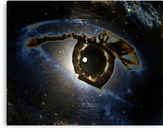 Real or Imagined Universal Eye by Cara Schingeck