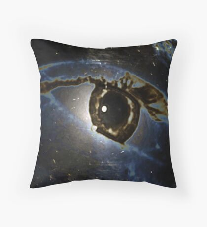 Real or Imagined Universal Eye Throw Pillow