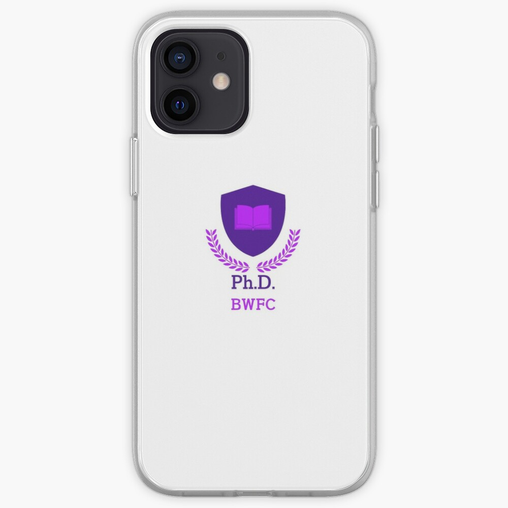 PhD BWFC iPhone Case & Cover