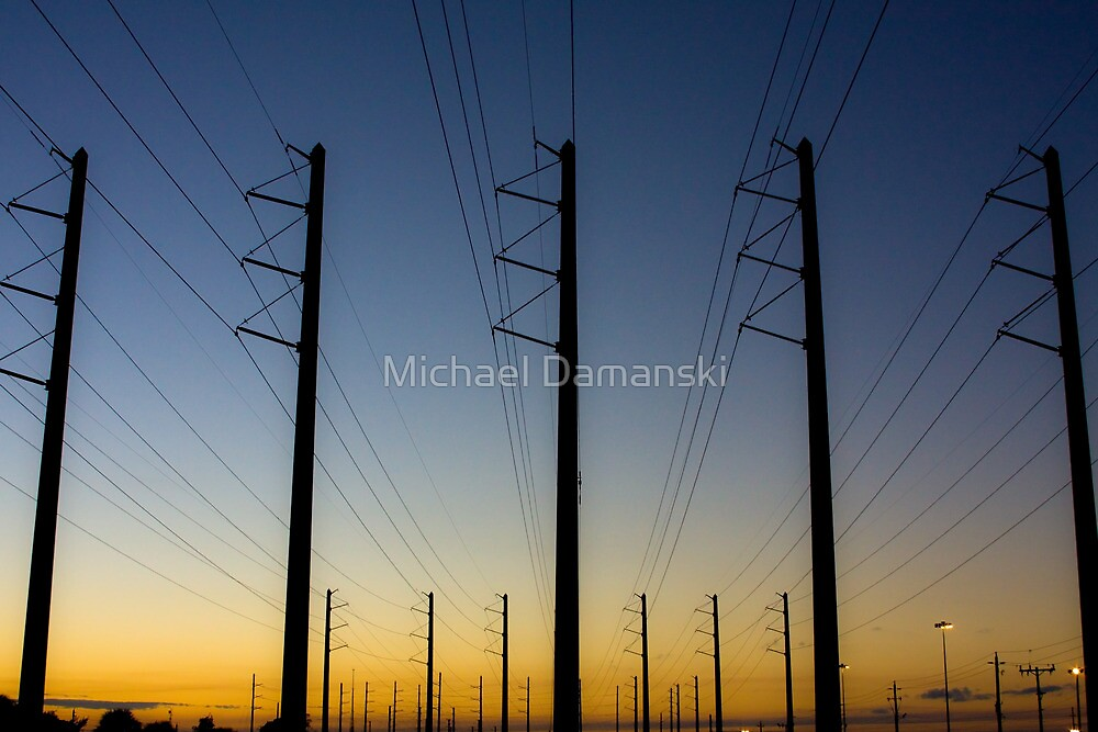 Lines of Power by Michael Damanski