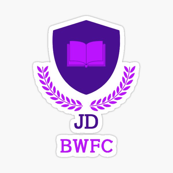 JD BWFC Sticker