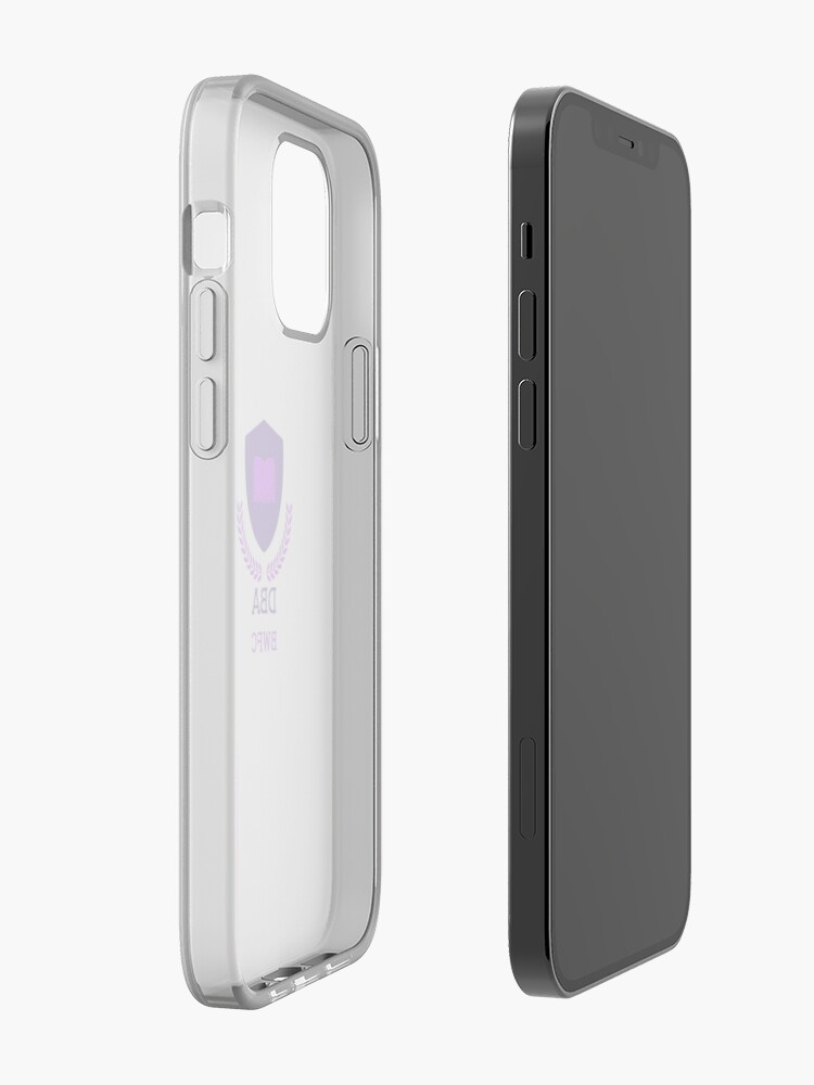 Alternate view of DBA BWFC iPhone Case & Cover