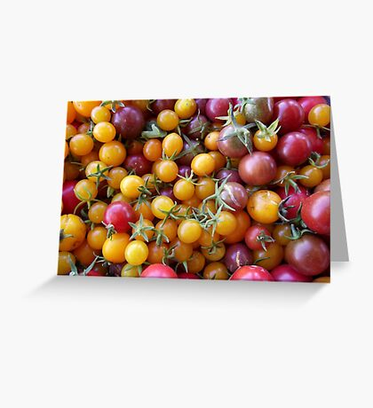 Tomato Party Greeting Card