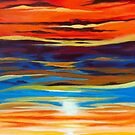 'SUNSET AS A DIVINE GESTURE' (VERSION #2) by Jerry Kirk