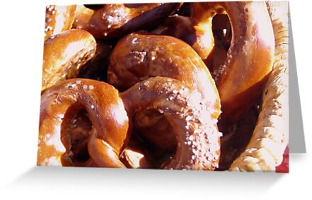 Warm Pretzels by Kimberly Morales