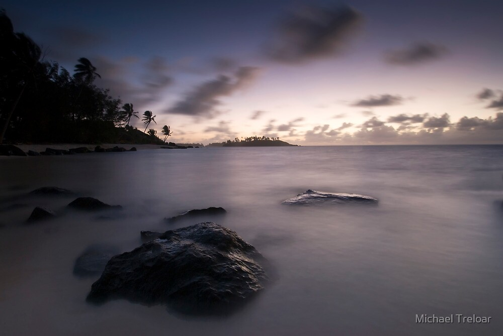 Pacific Dawn by Michael Treloar