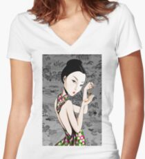 Precious. Women's Fitted V-Neck T-Shirt