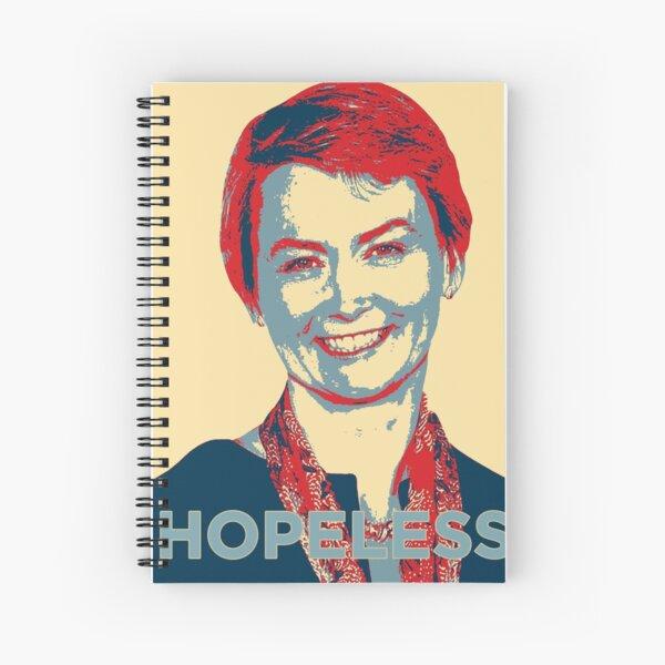 Labour Leadership Hopeless Yvette Spiral Notebook