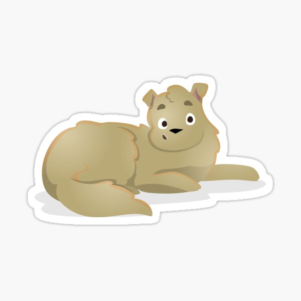Odie Sticker