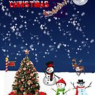 Its a North Pole Christmas by Bernie Stronner