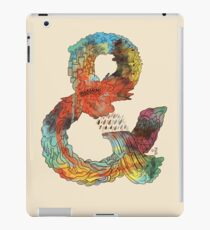Psychedelic Ampersand iPad Case/Skin