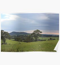 Mt Barker from Wistow Poster
