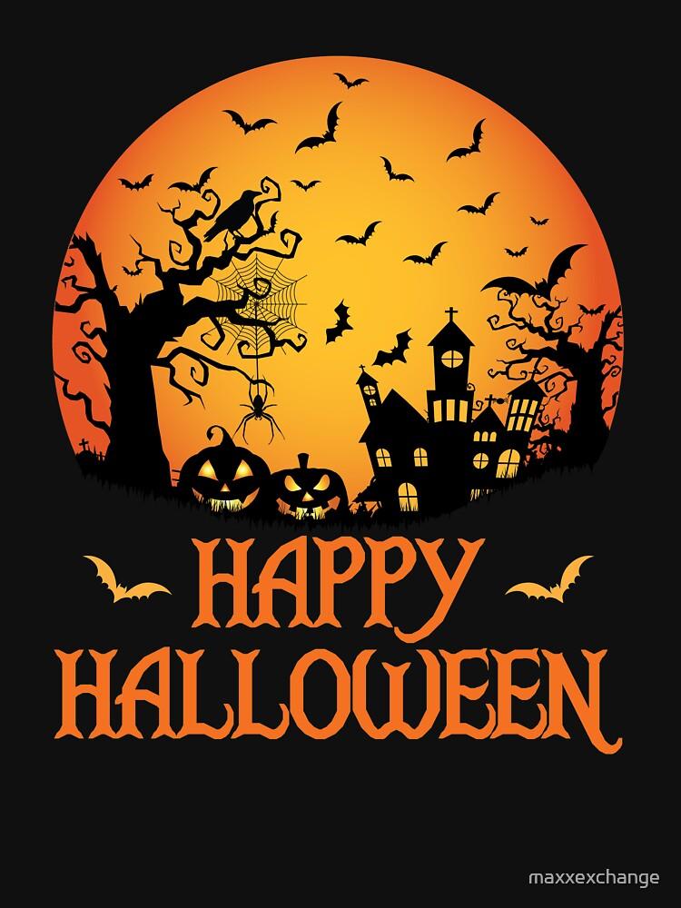 Spooky Scene Halloween Scene Scary Scene Design by maxxexchange