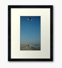 The Kiteboarder Framed Print