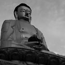 buddha. swayambhunath, nepal by tim buckley | bodhiimages