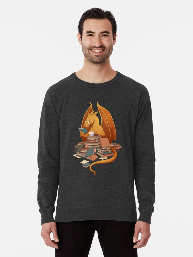 Alternate view of The Librarian's Horde Lightweight Sweatshirt