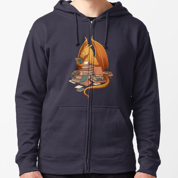 The Librarian's Horde Zipped Hoodie