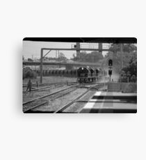 B&W Coal Train - NSW Canvas Print