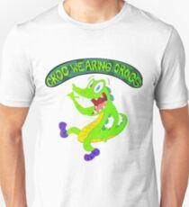 Croc Wearing Crocs T-Shirt