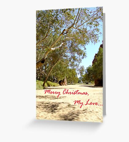 Australian Christmas Card Greeting Card