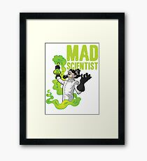 Mad Scientist T Shirt Framed Print