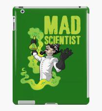 Mad Scientist T Shirt iPad Case/Skin
