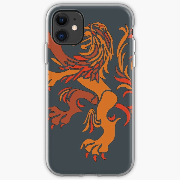 Netherlands Lion Logo iPhone Soft Case