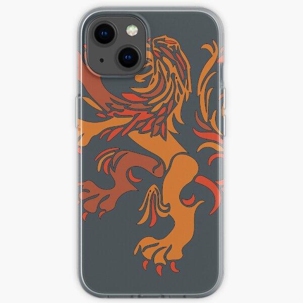 Netherlands Lion Logo iPhone Soft Case