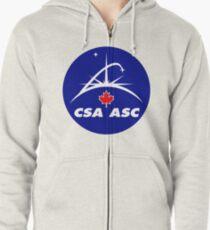 Canadian Space Agency Zipped Hoodie