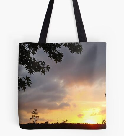 Watercolor Sunset Tote Bag