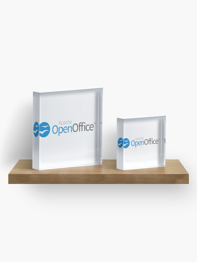 Alternate view of Apache OpenOffice Acrylic Block