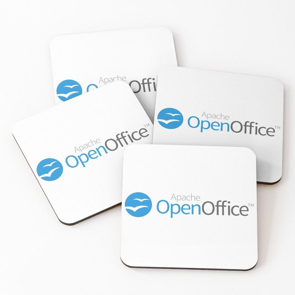 Apache OpenOffice Coasters (Set of 4)
