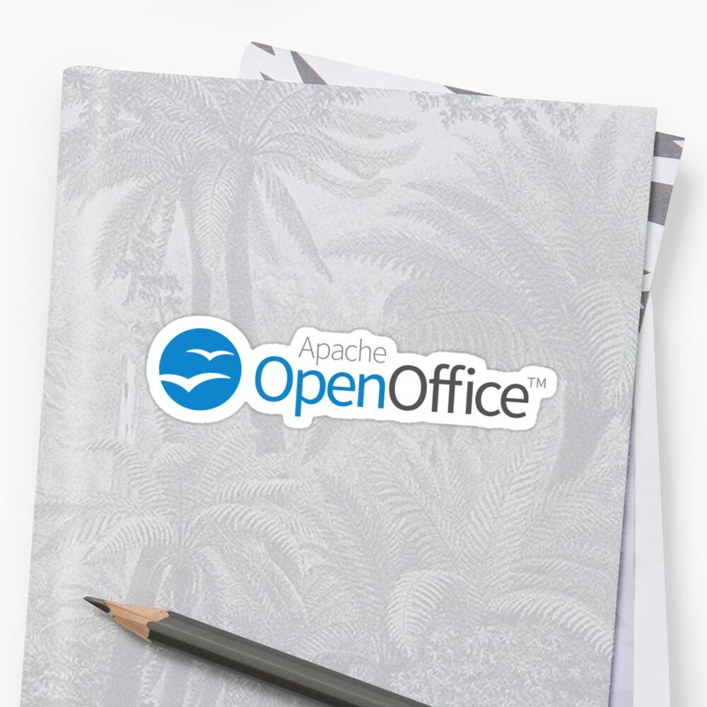 Apache OpenOffice Sticker