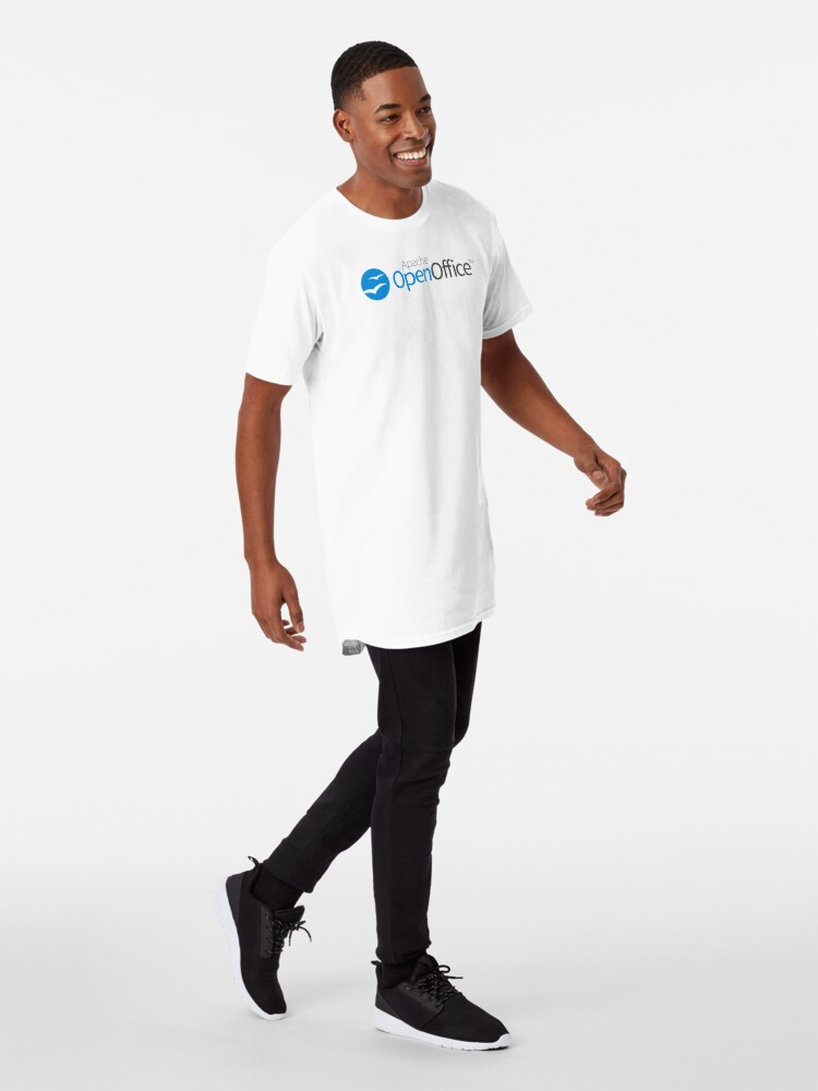 Alternate view of Apache OpenOffice Long T-Shirt