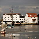 Tide Mill at Woodbridge, River Deben, Suffolk by Christopher Cullen