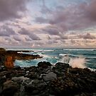 Sunset in Poipu by Flux Photography