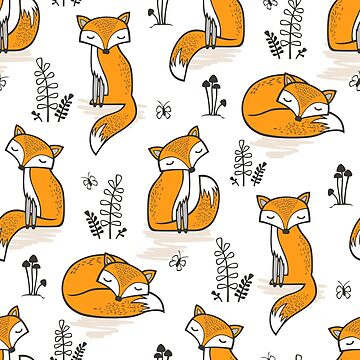 Dreamy Fox by CajaDesign